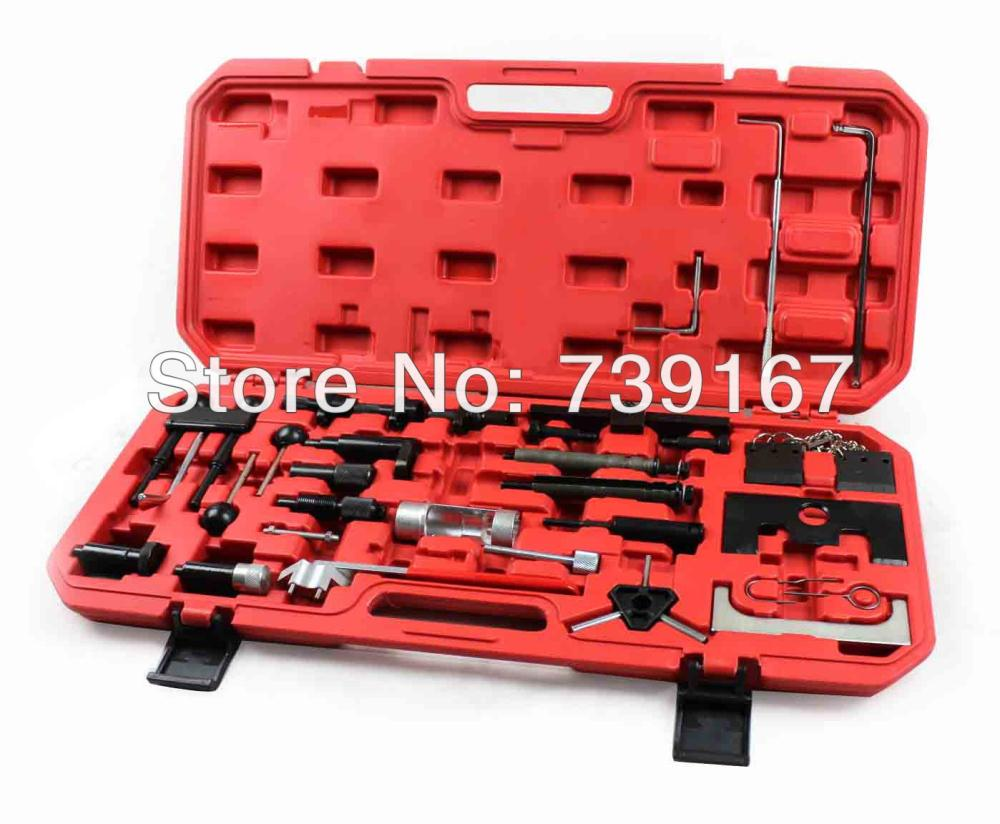 Petrol Diesel Engine Camshaft Locking Alignment Timing Tool Kit For VW AUDI SKODA 1.2/1.4/1.6/1.8/2.0 ST0055 engine camshaft alignment timing tool kit for audi vw 2 0l fsi tfsi