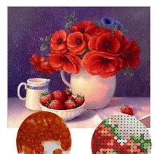 Снеговик, бисер, Рукоделие, сделай сам Вышивка бисером, наборы для вышивки крестиком, точный Печатный цветочный узор, рождественские подарки