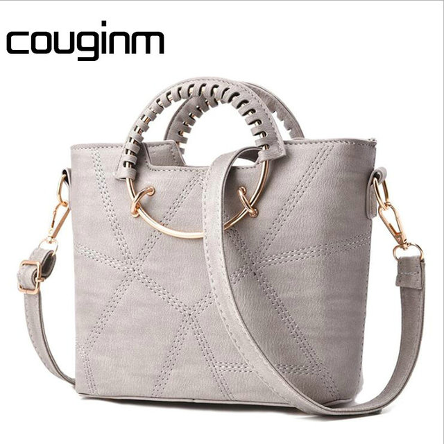 Couginm Fashion Women Bag Brand Name Tote Pu Leather Handbags Casual Crossbody Las New Style Evening