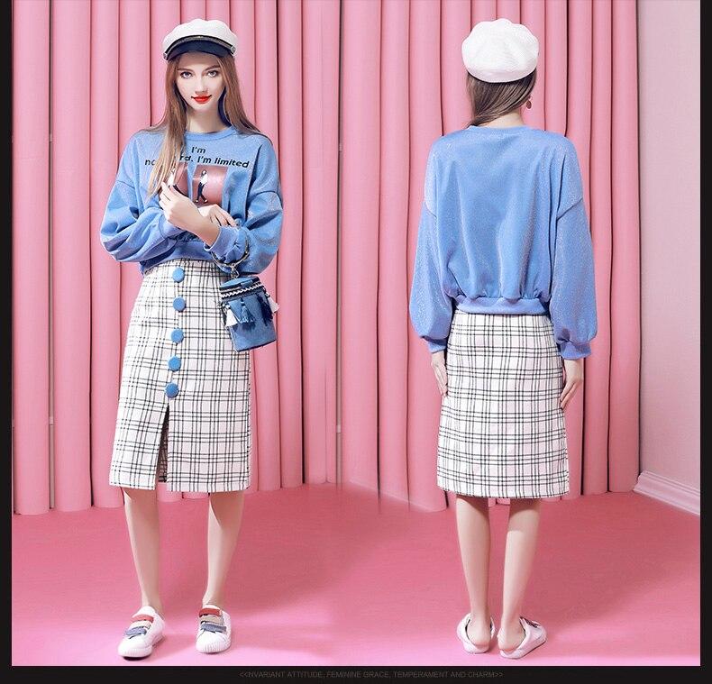 2018 Automne Dames De Bureau de Mode O-cou À Manches Longues Empire Genou Longueur A-ligne Dree Femmes Élégant Solide Streetwear Robe
