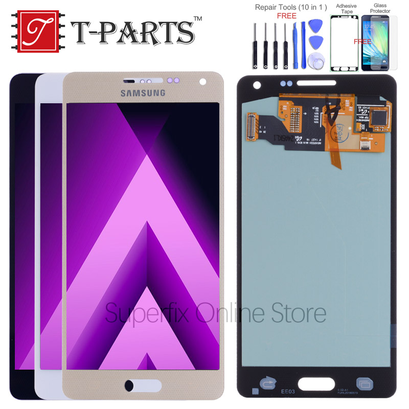 AMOLED LCD for SAMSUNG Galaxy A5 2015 Display A500F LCD A500FU A500 A500M Touch Screen For SAMSUNG Galaxy A5 2015 Display