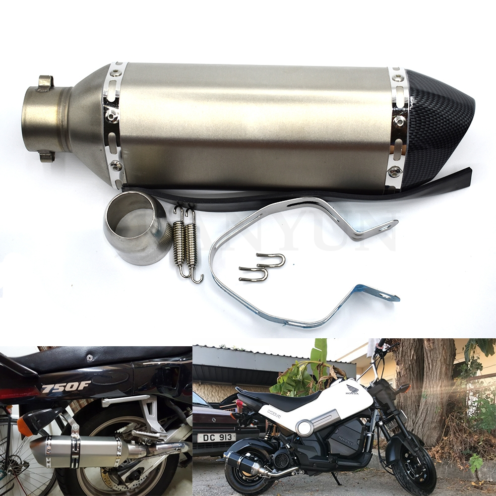 for Motorcycle parts Exhaust Universal 51mm Stainless Steel Motorbike Exhaust Pipe FOR KTM DUKE200 DUKE390 DUKE690 DUKE990for Motorcycle parts Exhaust Universal 51mm Stainless Steel Motorbike Exhaust Pipe FOR KTM DUKE200 DUKE390 DUKE690 DUKE990