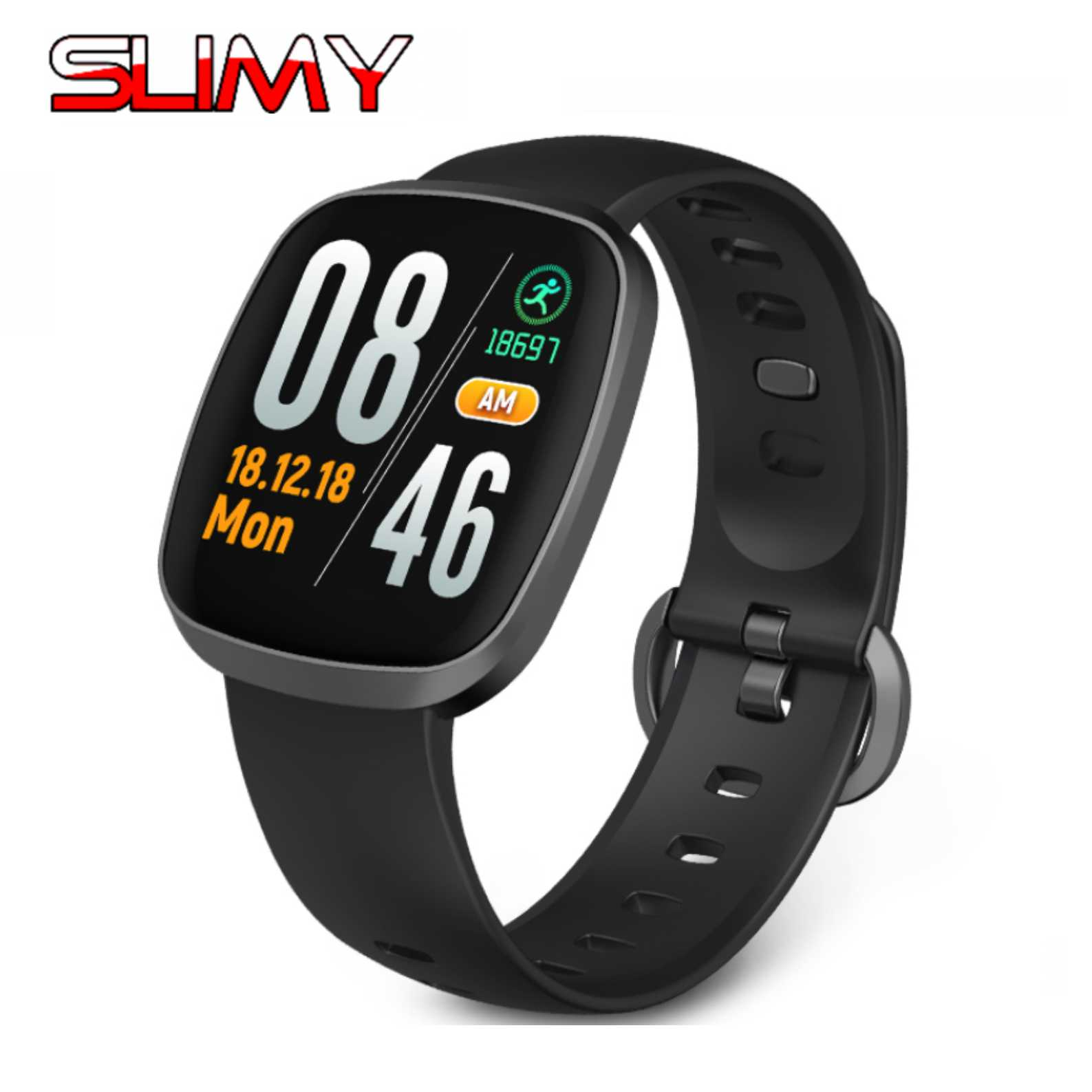 Radient Slimy Gt103 Smart Watch 1.3 Ips Color Touch Lcd 2.5d Curved Screen Fitness Tracker Sports Smartwatch Heart Rate Monitor Smart Electronics