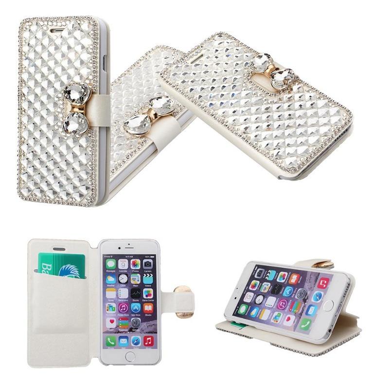 Luxus Diamond Hülle für iPhone 5 6 6s plus Strass Handyhülle - Handy-Zubehör und Ersatzteile - Foto 3