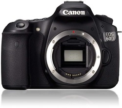 USED,Canon EOS 60D 18 MP CMOS Digital SLR Camera with with 18-55SII Kit Lens, Memory Card