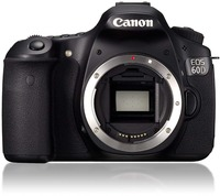 USED,Canon EOS 60D 18 MP CMOS Digital SLR Camera with 18 55SII Kit Lens, Memory Card, Camera Bag