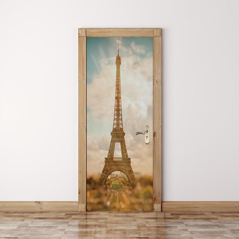 Купить 2 шт/компл 3d осенний кленовый подсолнух наклейка на дверь раздвижные