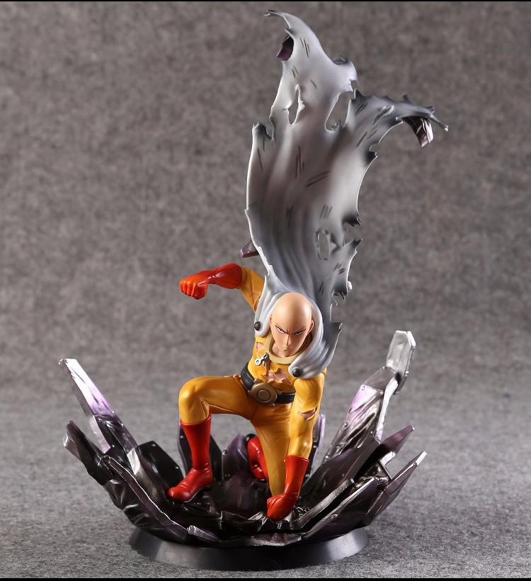 One Punch Figure Saitama Sensei One Punch Man Figure PVC 1