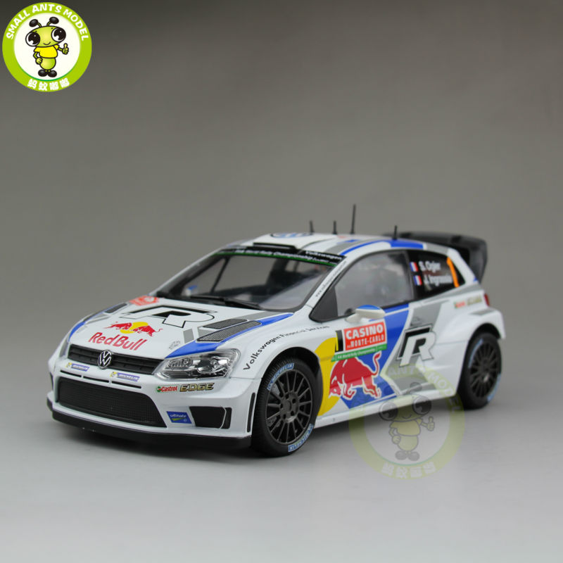 1:18 VW Volkswagen POLO R WRC 2015 #1 RED BULL Norev Diecast Model Racing Car pepe jeans red bull racing f1 g15100839929