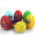 100 pçs/lote creativetoy tumbler brinquedos dinossauro ovos coloridos diy açúcar ovos surpresa para kids party favor