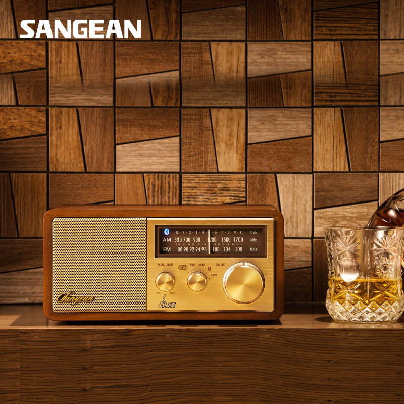 SANGEAN Blues Free shipping Stereo Wireless Bluetooth Speaker bluetooth radio speaker free shipping sangean portable mini speaker bluetooth portable speaker with radio fm