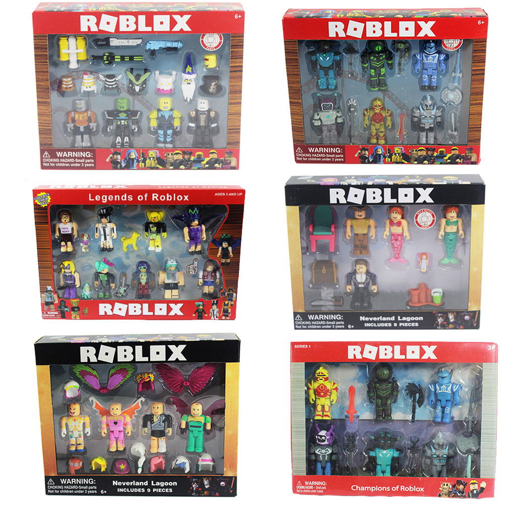 16 Sets Roblox Figure jugetes 2018 7cm PVC Game Figuras Roblox Boys Toys for roblox-game скуби ду лего
