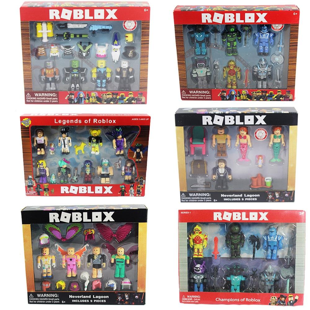 16 Sets Roblox Figure jugetes 2018 7cm PVC Game Figuras