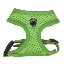 Paw Rubber Adjustable Dog Chest harness