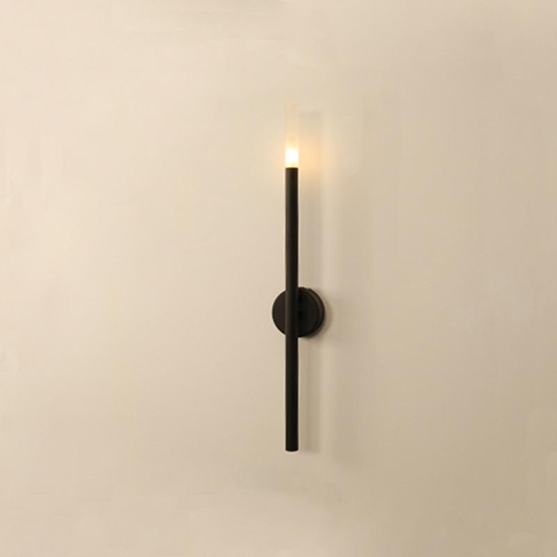 Wall Light Cross Design Plating Iron Black or Golden Cover LED G4 Bulb Sconce Light Hallway Bar Coffee Shop Indoor lighting