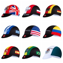 Helmet Cycling-Cap Brazil Mexico Poland Colombia Bike-Hat Bandana Greece Pirate Women