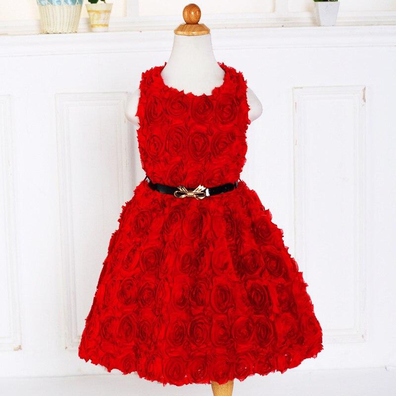 Children s Dresses Girls Flowers Party Costume For Kids Girl Ball font b Gown b font