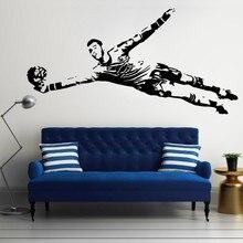 YOYOYU David De Gea Spain Spanish Goalkeeper Football Decal Wall Sticker Picture for boy room 2018 worldcup Refueling