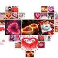 Atacado nupcial Do Casamento de Rosa Pétalas 1000 pçs/lote Decorações Flores Do Casamento De Poliéster Nova Moda 2017 Artificia Frete Grátis