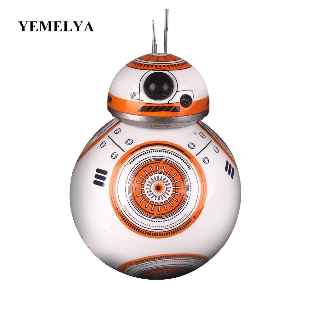 Movie toys Star Wars RC BB-8 Robot Star Wars 2.4G remote control BB8 robot Action Figure Robot Intelligent Ball kid gift boy toy