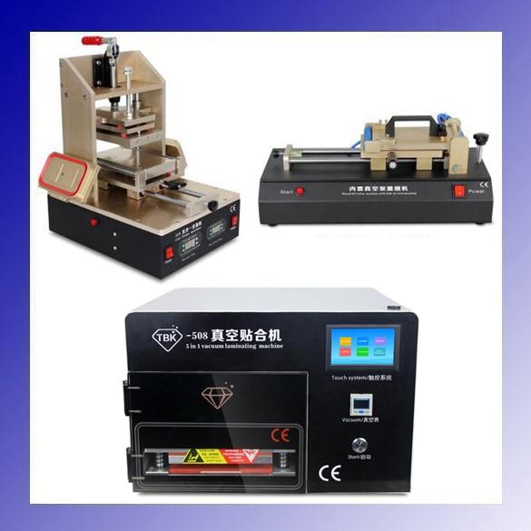 TBK LCD repair equipment 5in1 Frame Laminating Machine+ TBK-508 5 In 1 OCA Vacuum Laminator Machine+OCA Film Laminating Machine johns geoff aquaman vol 02 others
