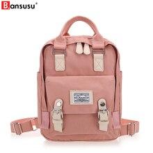 BANSUSU Newest Stylish Cool Backpack Women Back pack Oxford kanken Backpack Fashion Vintage Rucksack Designer School