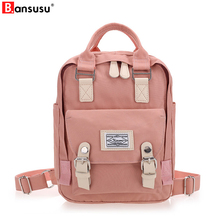 BANSUSU Newest Stylish Cool Backpack Women Back pack Oxford kanken Backpack Fashion Vintage Rucksack Designer School Bag mochila