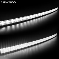 HELLO EOVO 7D Curved 52 inch 500W with DRL LED Work Light Bar for Tractor Boat OffRoad 4WD 4x4 Truck SUV ATV Combo Beam 12V 24v