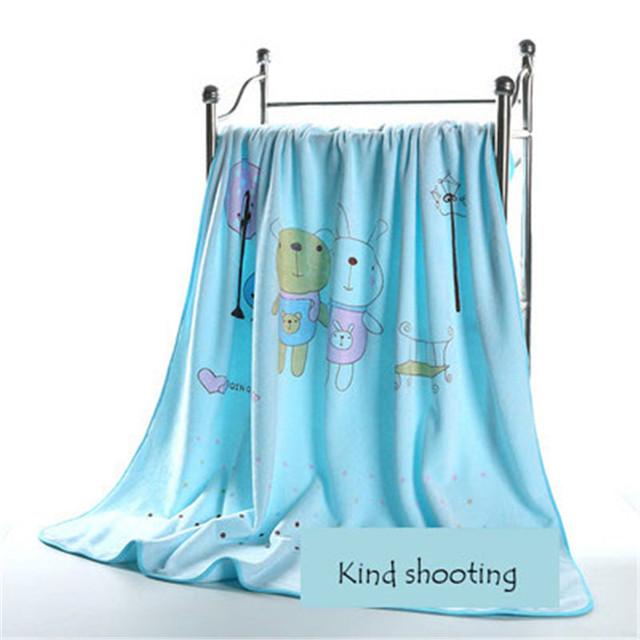 Toalhas de banho De Algodão Super Macio Para Crianças Roupão De Banho Toalhas de Banho Washcloths Atoalhado 60A038 Cobertor Cobertor do bebê de Musselina