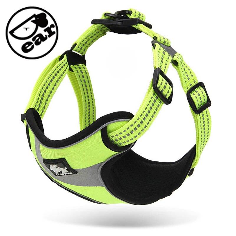 Polstrovaný reflexní postroj Soft Walk Vest Super kvalitní silný výcvikový postroj bez vytahování pro malý střední pes