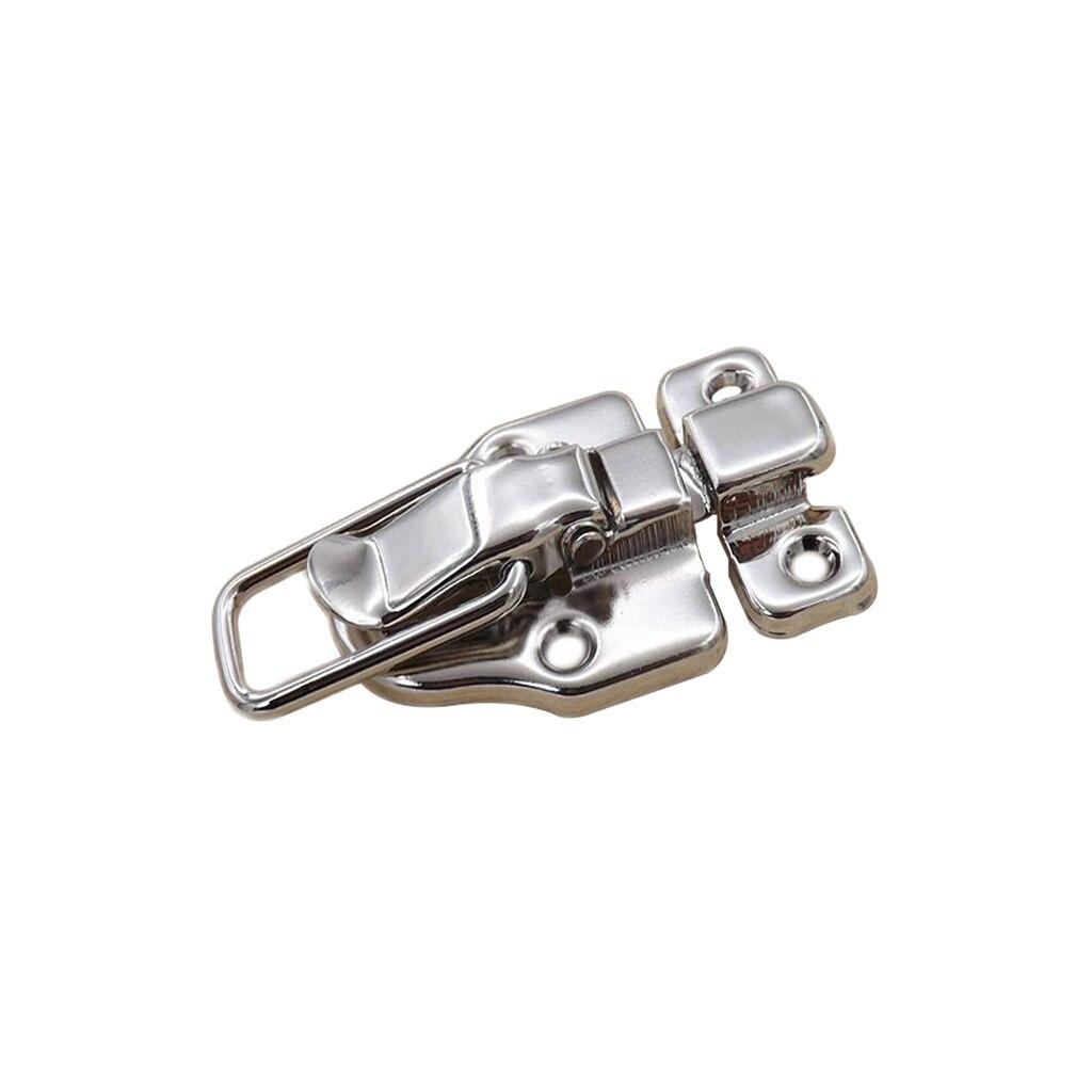 4 Uds. de Cierre resistente de acero inoxidable para maleta/caja de madera/caja de vuelo, Cierre de Cierre, Cierre de caja Boitier