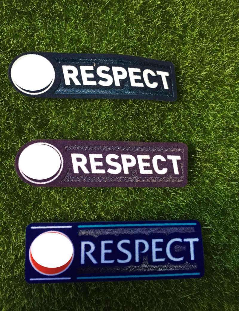 Respect Patch UCL 2009-2011 2011-2012 2012-2018 Jaar Game Warmteoverdracht Voetbal Patch Badge