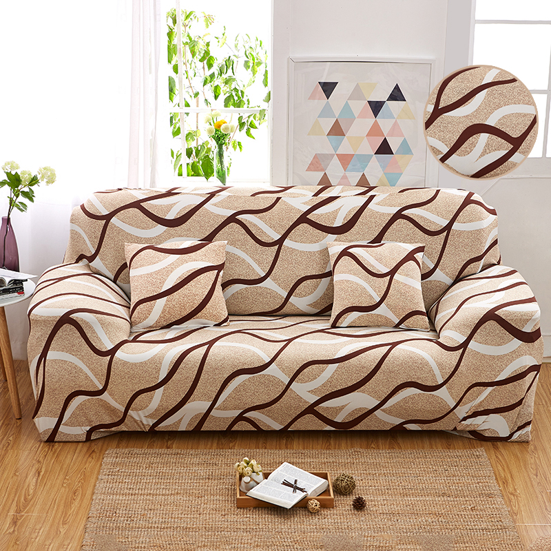 Flower Print Elastic Corner Sofa Cover Spandex Slipcovers Removable Stretch L Shaped 2 and 3 seater Couch Case for Living Room|sofa cover|slipcover sofa cover|slipcover sofa - title=