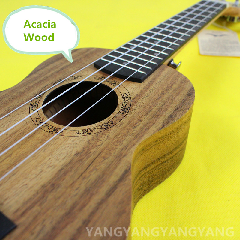 Soprano Acacia Wood Ukulele 21 Inch Mini Hawaiian Guitar 4 Strings Guitarra Ukelele High Grade Lumber Uke Handcraft Wood concert acacia wood ukulele 23 inch mini hawaiian guitar 4 strings guitarra ukelele high grade lumber uke handcraft wood