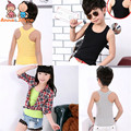 2017 1Pcs Summer Korean Cotton Sports Fashion Wild Word Vest Big Virgin Baby Camisole Neutral Color Optional    TST0145