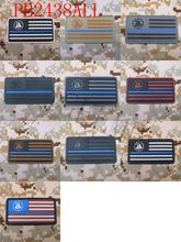 The Thin Blue Line DON'T TREAD ON ME America flag  Military Tactical Morale 3D PVC patch Style 1