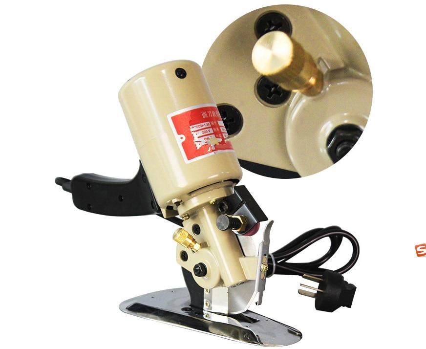 90mm Blade Electric Cloth Cutter Fabric Cutting Machine 110V//220V  Free shipping