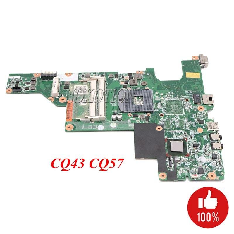 NOKOTION 646177-001 pour carte mère d'ordinateur portable HP 2000 Compaq CQ43 CQ57 HM65 GMA HD DDR3