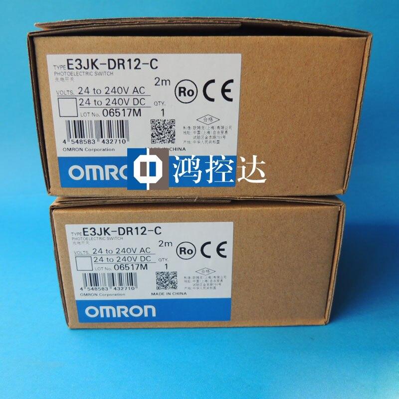 Prix spécial nouveau original Omron interrupteur photoélectrique E3JK-DR12-C
