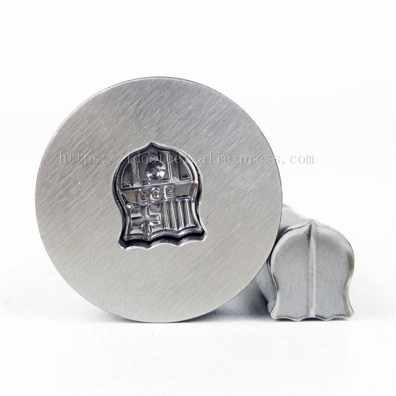 FCB foot 11.66*9.84mm lait comprimé Die 3D poinçon presse moule bonbons poinçonnage Die Logo personnalisé Calcium comprimé poinçon Die