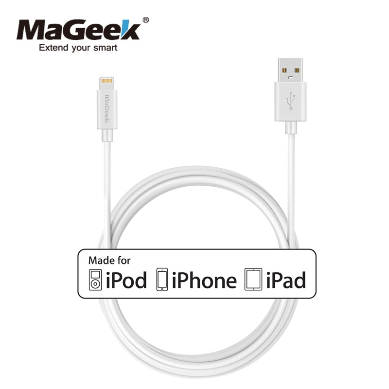 MaGeek 3,0 mt/10ft Extra Lange Handy Kabel MFi Zertifiziert Blitz zu USB Kabel für iPhone Xs Max X 8 7 6 iPad iOS 10 11 12