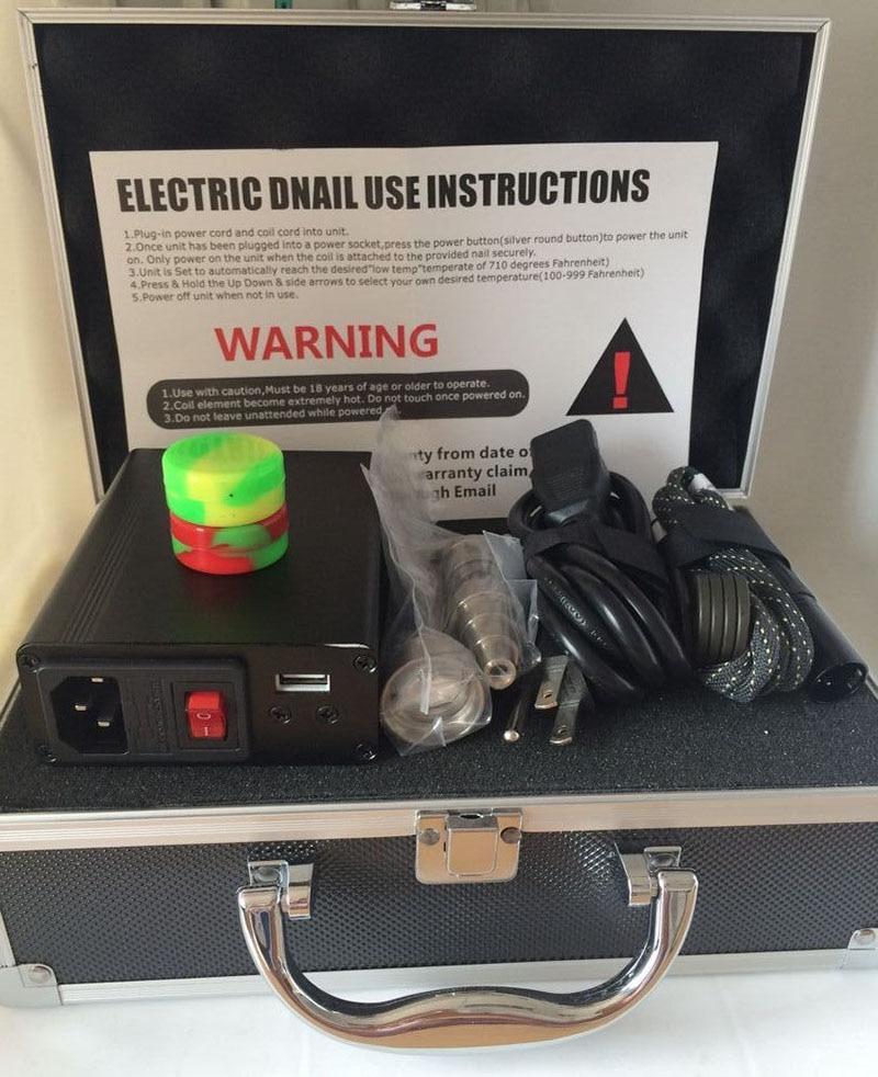 2016 Enail Kit Digital Electronic D Nail Dab Titanium Nail E Nail D Nail WAX with USB