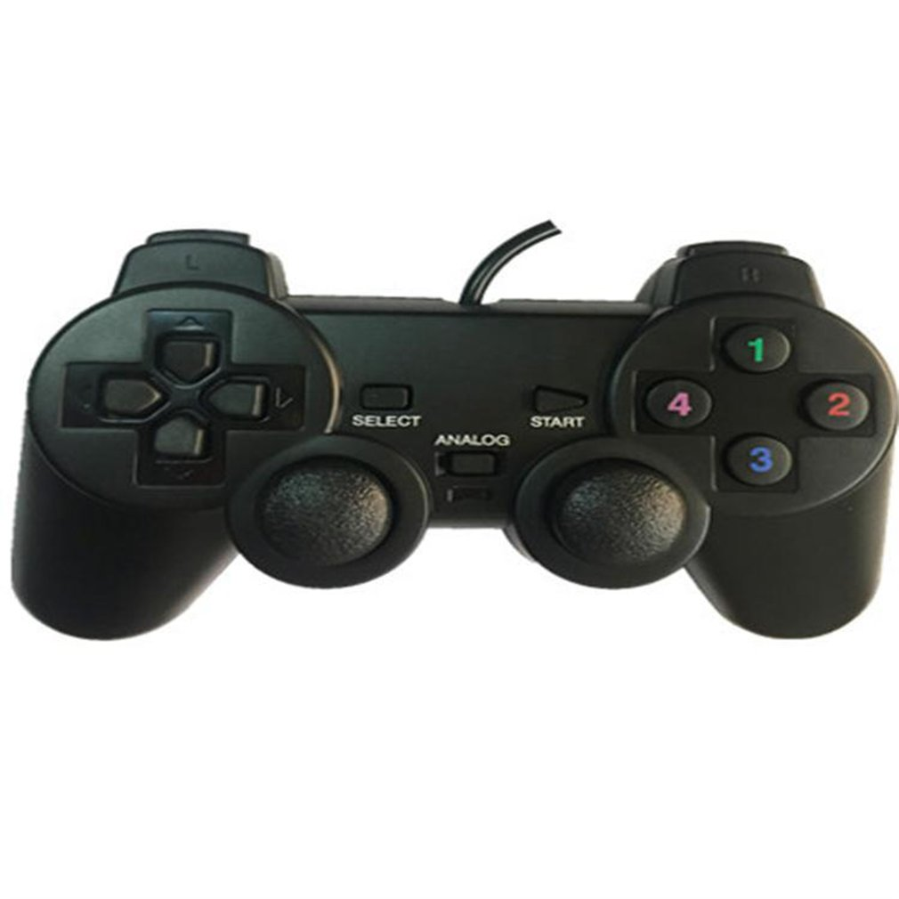 Gamepad Joystick USB2 0 Shock Joypad Gamepads Game Controller For PC Laptop  Computer Win7/8/10/XP/Vista