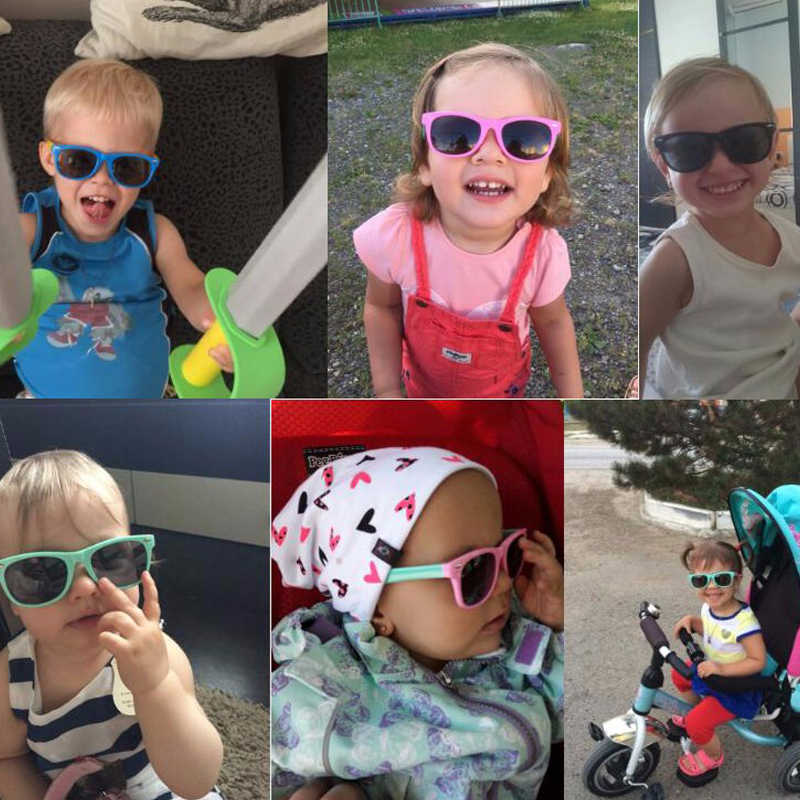 1d342b91338b ... TR90 Kids Sunglasses Polarized Child Sun Glasses 1.5-11 Years Old Boys  Girls Eyewear Lovely ...