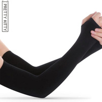 PRETTY KITTY Summer Sport Sleeves Women Men UV Pro ...