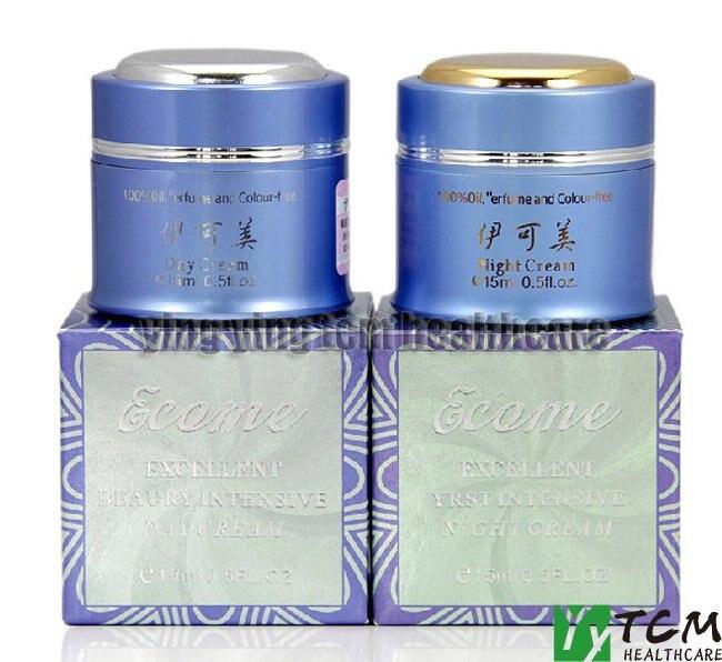 Hot wholesale YIKEMEI  whitening day cream+night cream anariti vitalizing day cream
