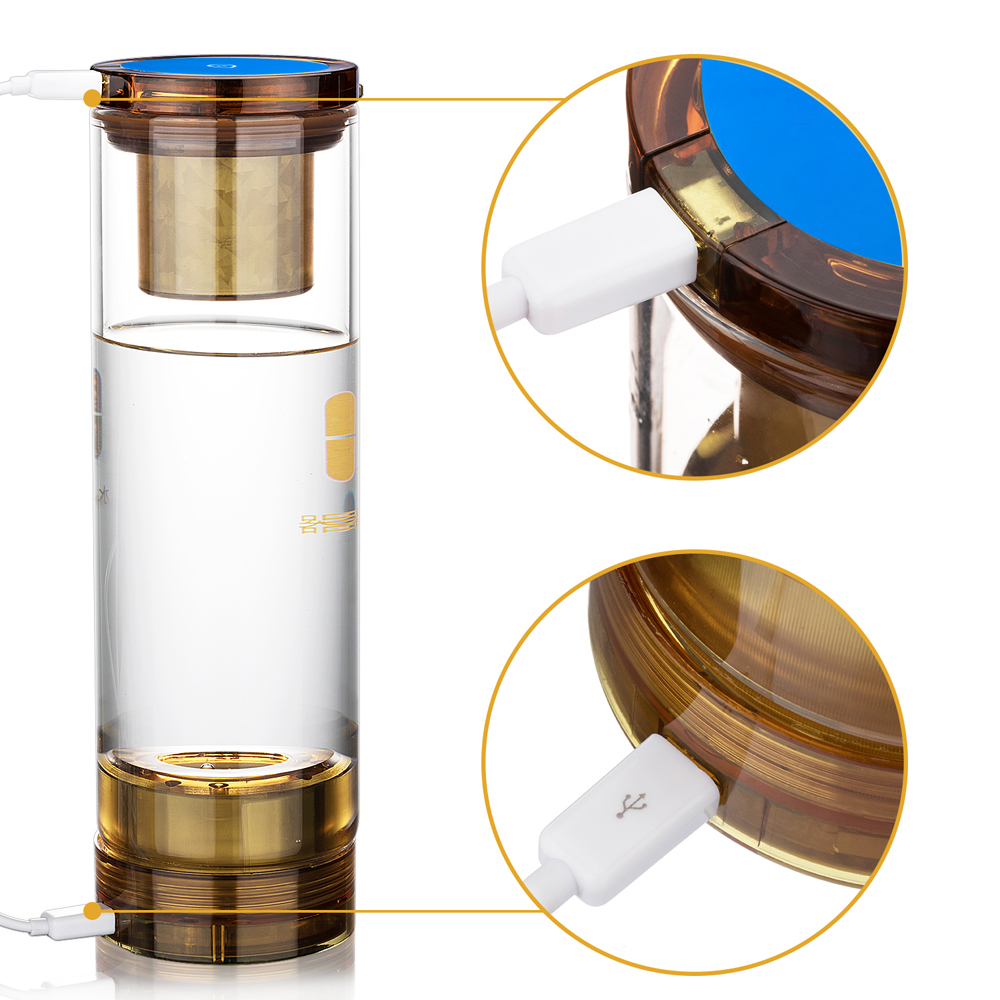 7.8Hz Molecular Resonance Effect Technology and hydrogen water generator water cup bottle Help to treat chronic diseases