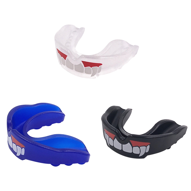 Athletic Football Mouth Guard Oral Teeth Safety Lip Protector All Sports Boxing
