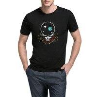 Loo show hombre Grateful Dead espacio sus Cara casual Camisetas hombres camiseta