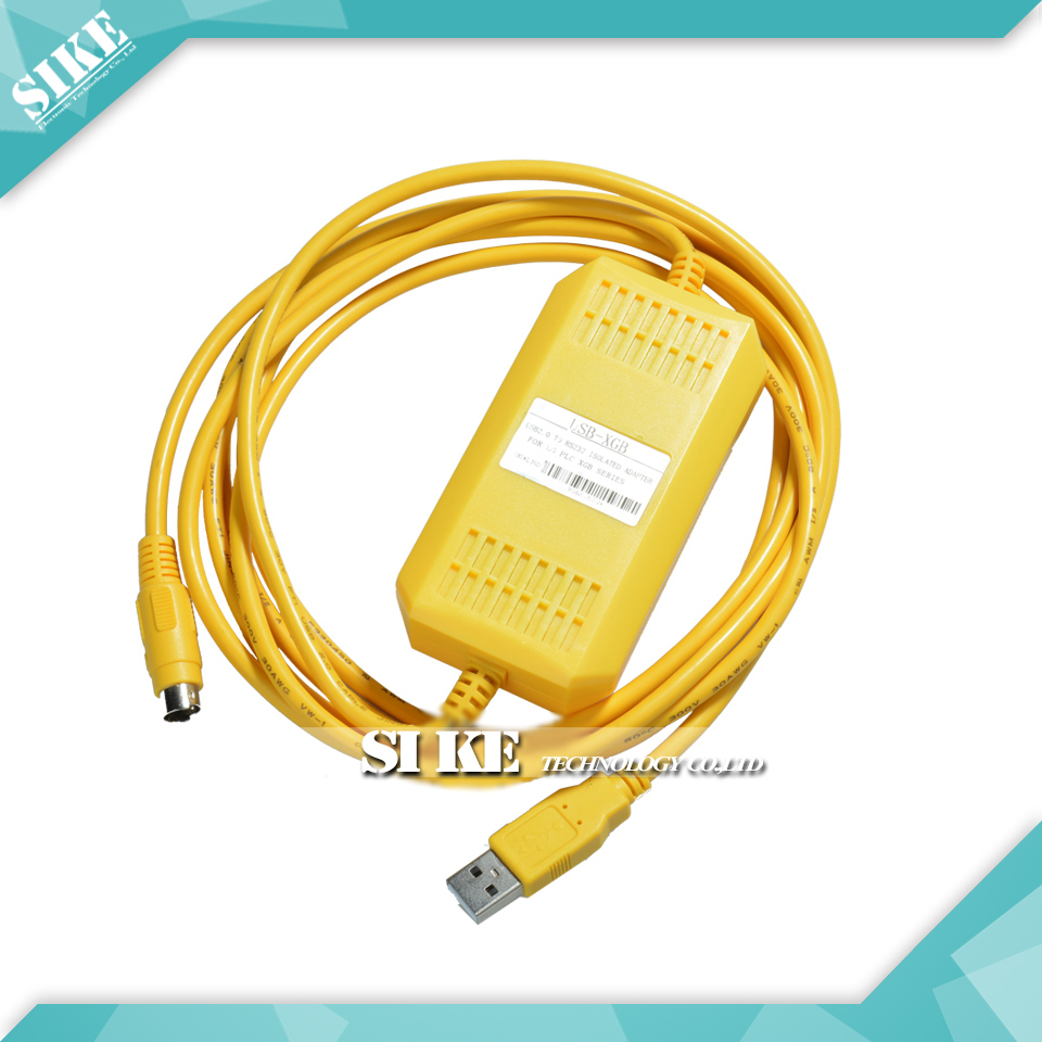 USB-XGB+ PLC Programming Cable Optical isolation XGB/XBC/XBM program download cable professional integrity plc programming cable usb fbs seconds